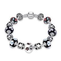 Flower Bundles Pandora Inspired Bracelet - $27.54