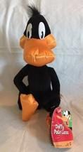 "Vintage Looney Tunes Plush Daffy Duck Pato 12"" Mattel VHTF Stuffed Animal - $21.77"