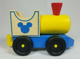 Melissa & Doug Disney Mickey Mouse All Aboard Wooden Train Engine Replacement - $9.89