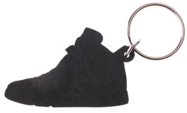 Good Wood NYC Infrared Black AJ6 6 Keychain VI White/ Key Ring Key Fob Kicks image 2