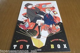 Doujinshi Hannibal Hannibal LECTER / Will (A5 18pages) con kitsune TOY BOX - $23.74