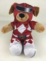 "Build A Bear Power Rangers Red Ranger Suit Dog 17"" Plush Stuffed Toy 201... - $44.50"