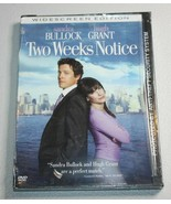 Two Weeks Notice (DVD) ~ BULLOCK - GRANT ~ BRAND NEW SEALED ~ - $4.99
