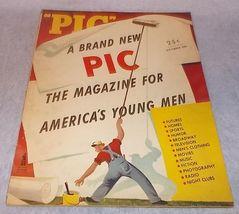 Vintage PIC Tabloid Style World War 2 Era Illustrated Magazine September... - $19.95