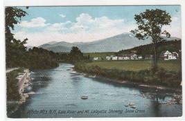 Gale River Mt Lafayette White Mountains New Hampshire 1907c postcard - $5.94