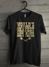 World's Okayest Darts Player Men's T-Shirt - Custom (4392) - $19.12+