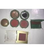 Estee Lauder blush # 23 plum, clinque gold dust new clover Lot of 5 vint... - $37.39