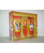 Escada Sunset Heat Perfume 1.6 Oz Eau De Toilette Spray 3 Pcs Gift Set - $299.95