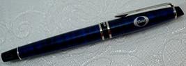 Waterman Blue Marble Ballpoint Pen Elsai Logo - $62.50