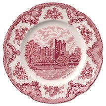 Johnson Brothers Old Britain Castles Pink Dinner Plates SET OF 4 NEW - $98.68