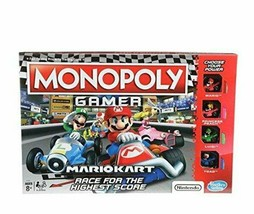 NEW SEALED Mario Kart Monopoly Gamer Board Game Hasbro Nintendo - $32.43