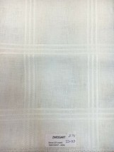 Zweigart Dover Linen 25 Ct Cross Stitch Fabric Rare 22 x 33 White + Cus... - $20.66