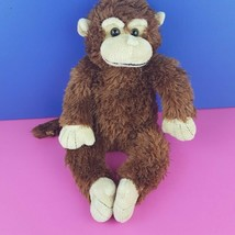"Unipak Plush Brown Monkey 15"" Stuffed Animal 2010  - $15.84"