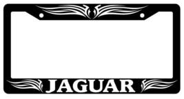 Black License Plate Frame Jaguar Tribal #1 Auto Accessory - $6.29