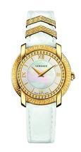 Versace VAM010016 DV-25 Round White Ladies Watch - $2,577.84