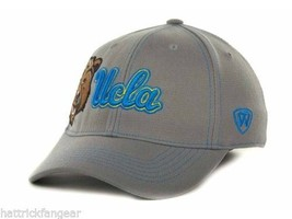 Ucla Bruins - Tow Ncaa Sketched Gray Stretch Fit CAP/HAT - Osfm - $18.04