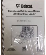 Bobcat S590 Skid Steer Operation & Maintenance Manual Operator/Owners 2 ... - $22.08+