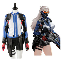 OW Soldier:76 Womens/Girls Halloween Cosplay Costume Suit Uniform Dress - $106.34+