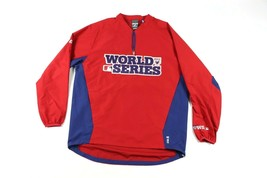Majestic Uomo Grande 2012 World Series Baseball Cool Base Pullover Giacc... - $53.44