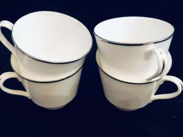 Royal Doulton Cups White Lot of 4 English Fine China England Free Ship - $22.26