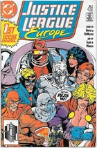 Justice League Europe Comic Book #1 DC Comics 1989 VERY FINE/NEAR MINT U... - $3.50