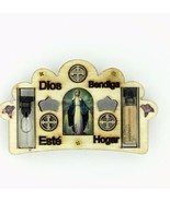 Catholic Virgin Mary Grace Milagrosa Home Blessing Magnet Holy Water Soi... - $9.88