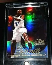 Kevin Garnett Flair Showtime Rare 1996-97 Timberwolves Hof - $7.08