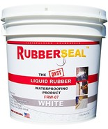 Rubberseal Liquid Rubber Waterproofing and Protective Coating - Roll On ... - $69.35