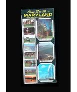 Maryland Brochure 1964 Travel Roadside Advertising Paper Ephemera Numero... - $14.99