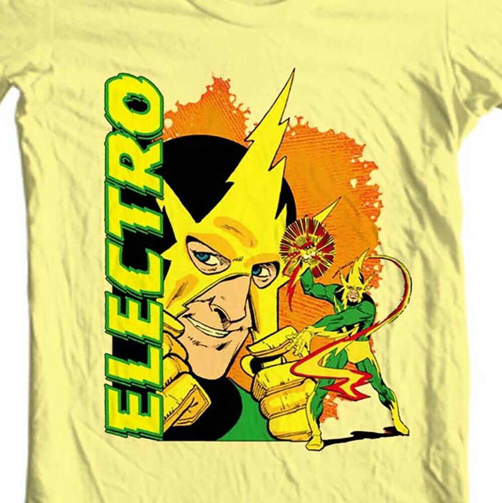 Electro t-shirt marvel comics sinister six retro silver age comic book villains