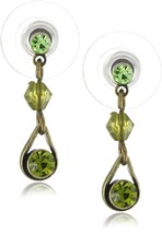 1928 Jewelry Teardrop Dangle Earrings - $27.99