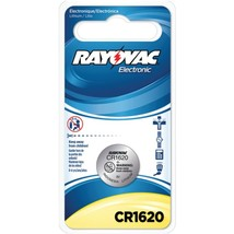 RAYOVAC KECR1620-1C 3-Volt Lithium Keyless Entry Battery (1 pk; CR1620 S... - $18.38