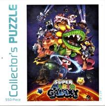 "Super Mario Galaxy Puzzle. USAopoly. 550 Piece 18""x24"" Collectible - $7.00"