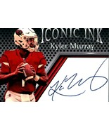 Kyler Murray Iconic Ink Facsimile Autograph Cardinals Mint Free Shipping - $5.94