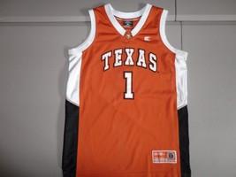 SEWN Colosseum Athletics Texas Longhorns #1 NCAA Basketball Jersey Youth... - $27.32