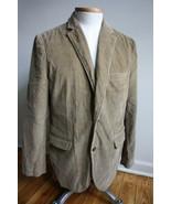 J. Crew Factory M Brown Vintage Corduroy Blazer Jacket - $29.45