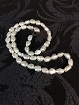 18 inch Pearl Necklace Fresh Water Cultured 47 Pearls in 18 Inches Ivory... - $19.00
