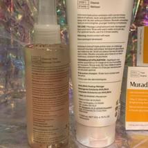 Full Sz NIB Murad ExfoliatingToner, Exfoliating Cleanser, Vit C Glycolic Serum image 2