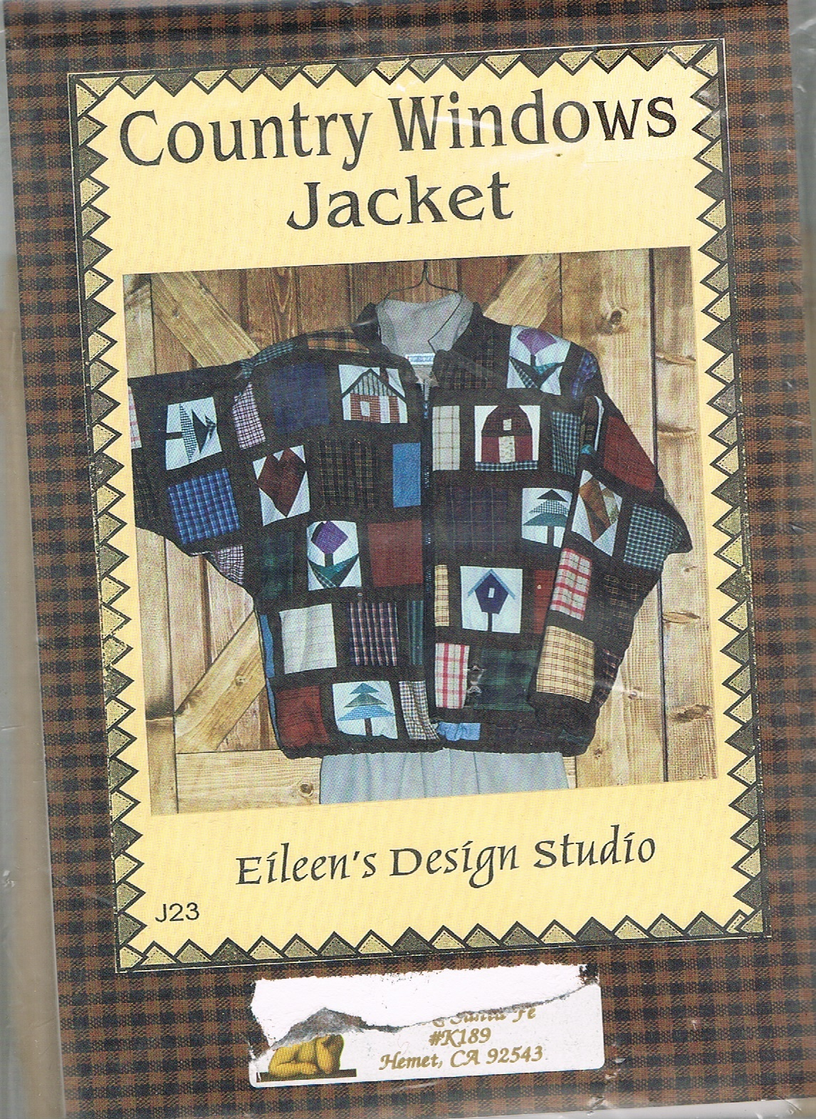 Eileen S Design Studio Sewing Pattern 1 Listing