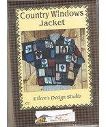 Country Windows Patchworking Sewing Jacket Pattern - $9.00