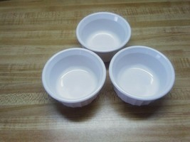 Corningware 4 ounce french white bowls - $14.84