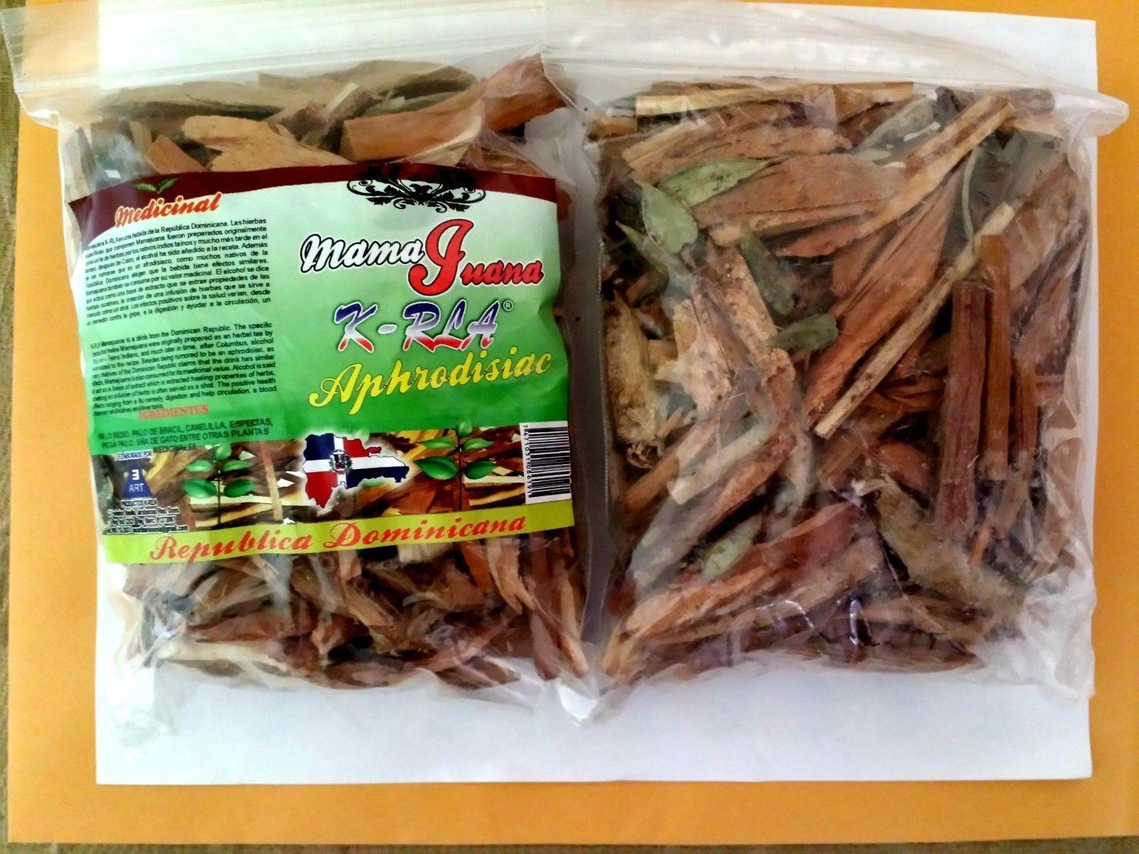 Mamajuana mama juana ???? ????? dry mix of native herbs and roots