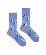 Birds socks | casual, cool, funky, crazy, color... - $9.00