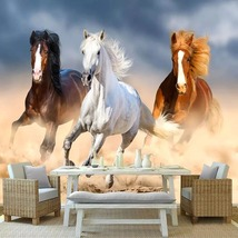 """3D Wallpaper """"Horses""""  - $35.00+"""
