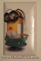 Minions Sexy Girl Light Switch Power Duplex Outlet Wall Cover Plate Home decor