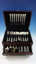Hampton Court by Reed & Barton Sterling Silver Flatware Set 8 Service 54 Pieces - $3,495.00