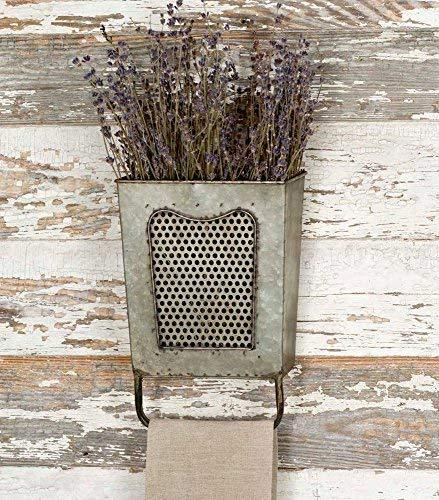 Country Style Wall Pocket Bathroom Decor