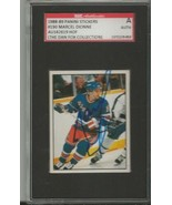 Marcel Dionne 1988 Panini Stickers Autograph #190 SGC Rangers - $55.98