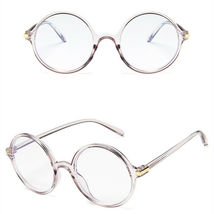 New Fashion Nerd Style Round Clear Lens Glasses Frame Retro Casual Daily Eyewear image 3
