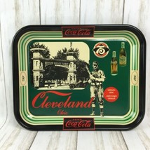 Coca-Cola Commemorative Tray 1980 Cleveland Bottling 75th Napoleon Lajoie  - $17.72